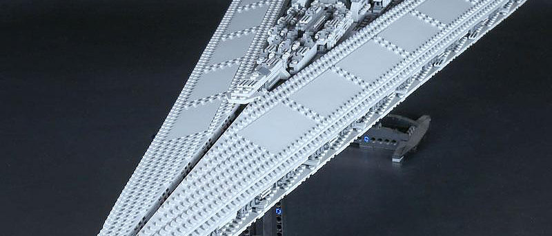 LEPIN 05028 Star Wars Super Star Destroyer LEGO 10221