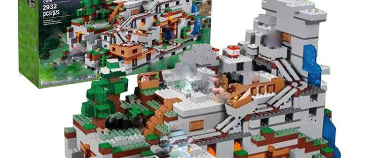 LEPIN 18032 Minecraft The Mountain Cave 21137