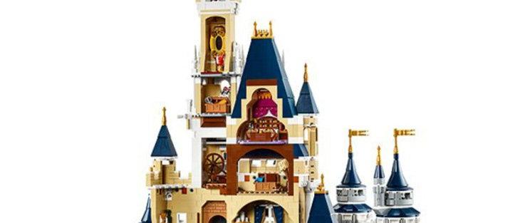 LEPIN 16008 Creator The Disney Castle LEGO 71040
