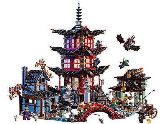 Temple of Airjitzu 06022 compatible LEGO 70751