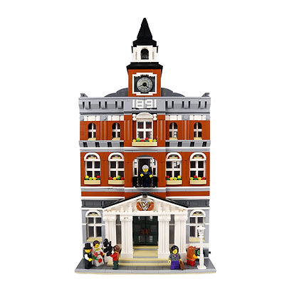 LEPIN 15003 The TOWN HALL compatible LEGO 10224