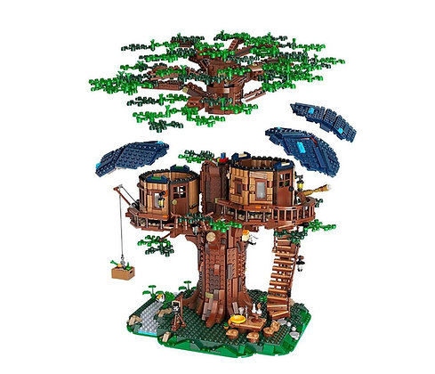 Idea Series Tree House SX6007 compatible with LEGO 21318