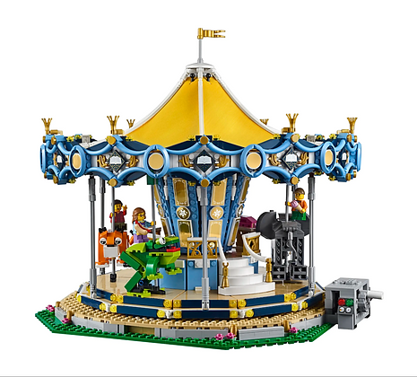 LEPIN 15036 Creator Series Carousel compatible LEGO 10257