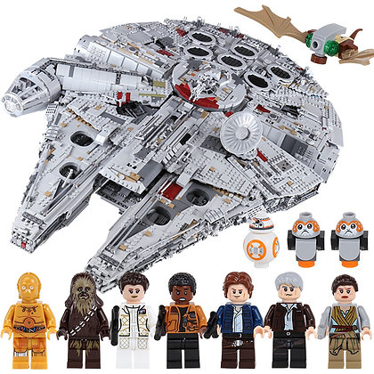 LEPIN 05132 Star Wars Millennium Falcon Limited COMPATIBLE 75192