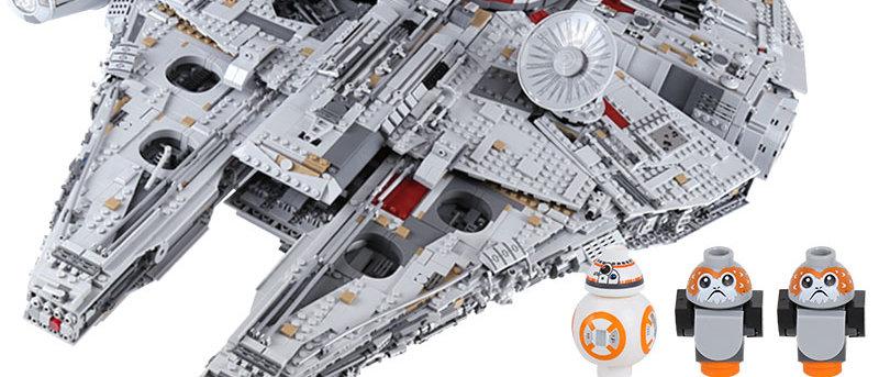 LEPIN 05132 Star Wars Millennium Falcon Limited LEGO 75192