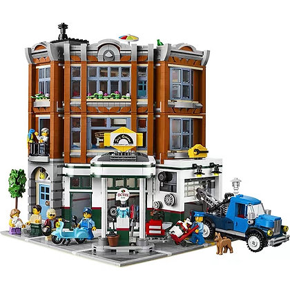 Creator Corner Garage LEPIN 15042 compatible LEGO 10264 Building blocks