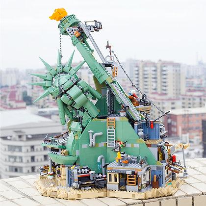 LEPIN 45014 Welcome to Apocalypseburg compatible LEGO 70840