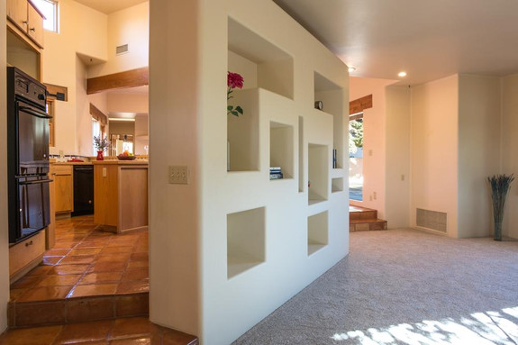 Access to kitchen & living room