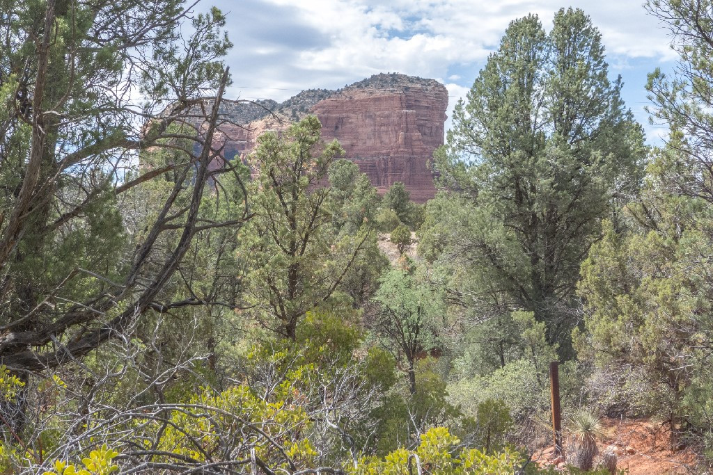 Views of Courthouse Rock