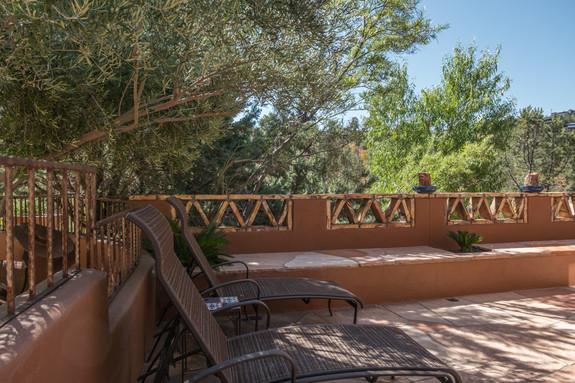 Casita private patio