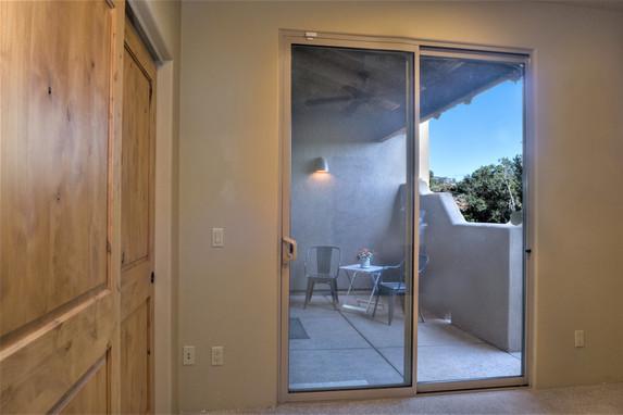 Bedroom #3 & patio