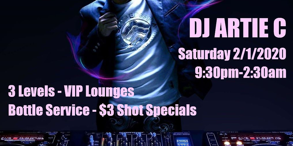 First of February Dance Party with DJ Artie C