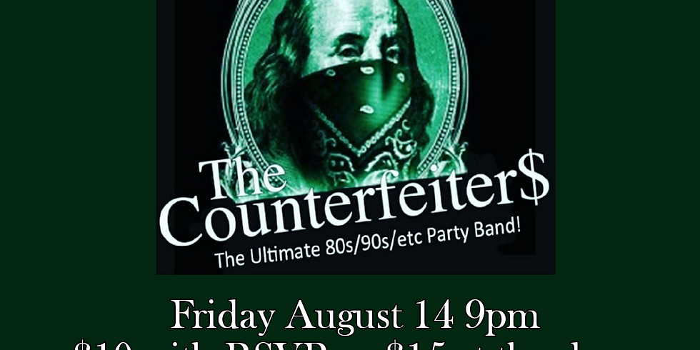 The Counterfeiters LIVE