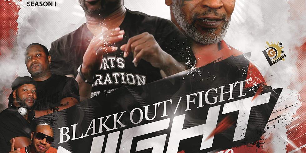 Blakk Out Fight Night