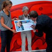 Uitreiking 1000 euro Make-A-Wish Nederland.JPG