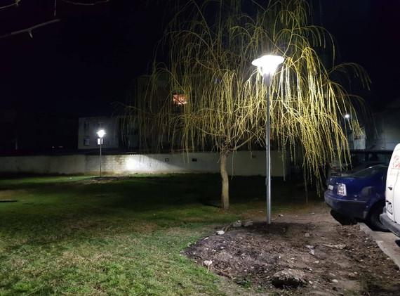 Iluminat parcuri