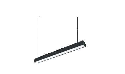Corp LED suspendat, 18W, 1620lm, 4000K, 600mm