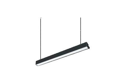 Corp LED suspendat, 36W, 3240lm, 3000K, 1200mm