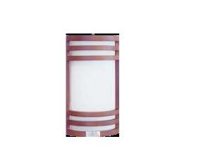 Plafonieră perete lemn+sticlă, 1x60W, E27