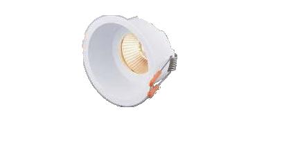Carcasă rotundă ptr. GU10/GU5.3 TETRA-CF