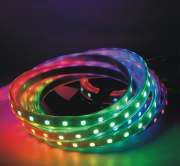 Bandă LED 14,4W/m, RGB, 12V, IP20, 5m/rolă