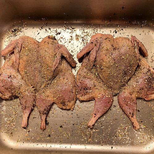Перепел в маринаде для гриля по-тоскански, 2 тушки в упаковке