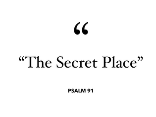 """The Secret Place"""