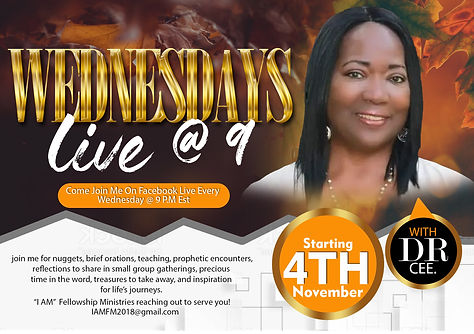 Wednesdays 9 Live  Fall flyer.jpg