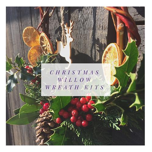 Christmas Willow Wreath Kit 1