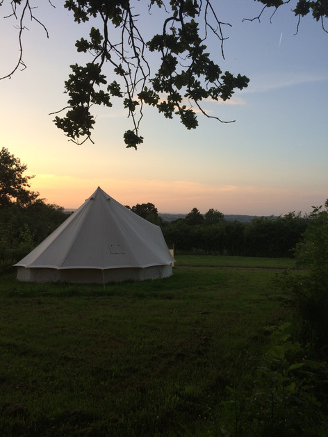 a bell tent