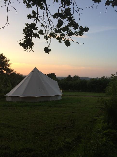 a bell tent