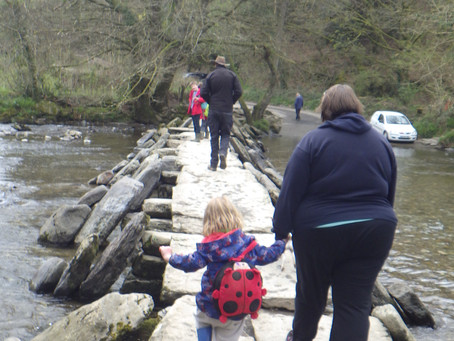 Tarr Steps a great walk with children