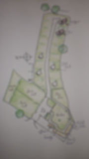 Map of our glamping site