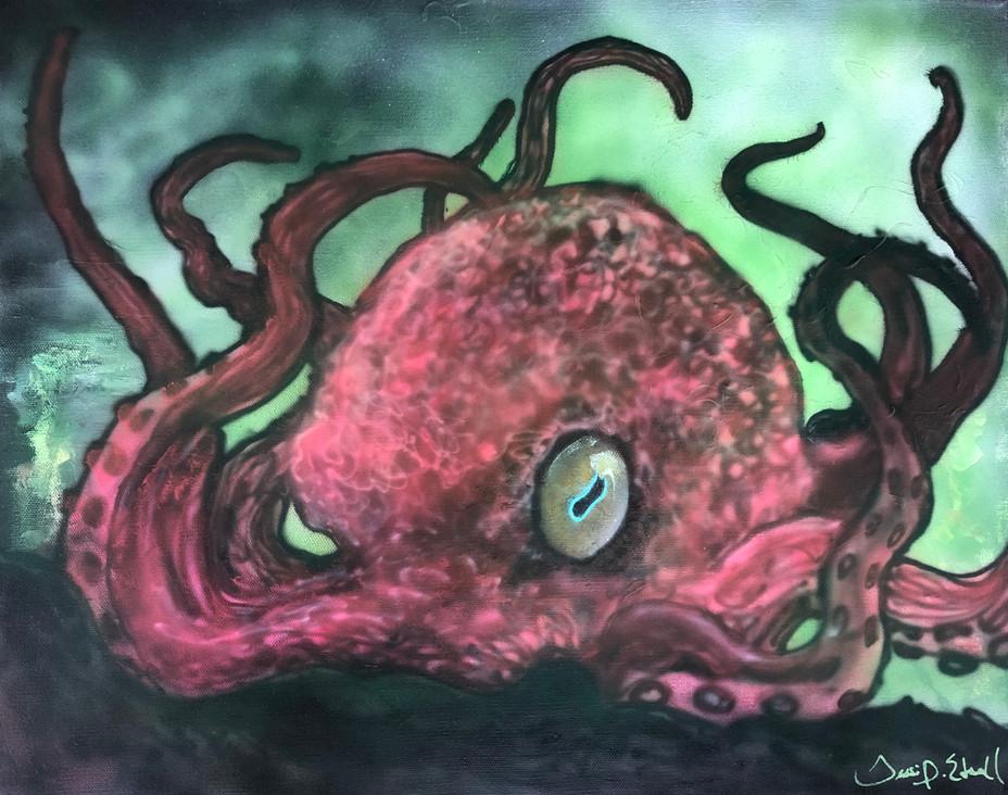 Odd Eyed Octopus