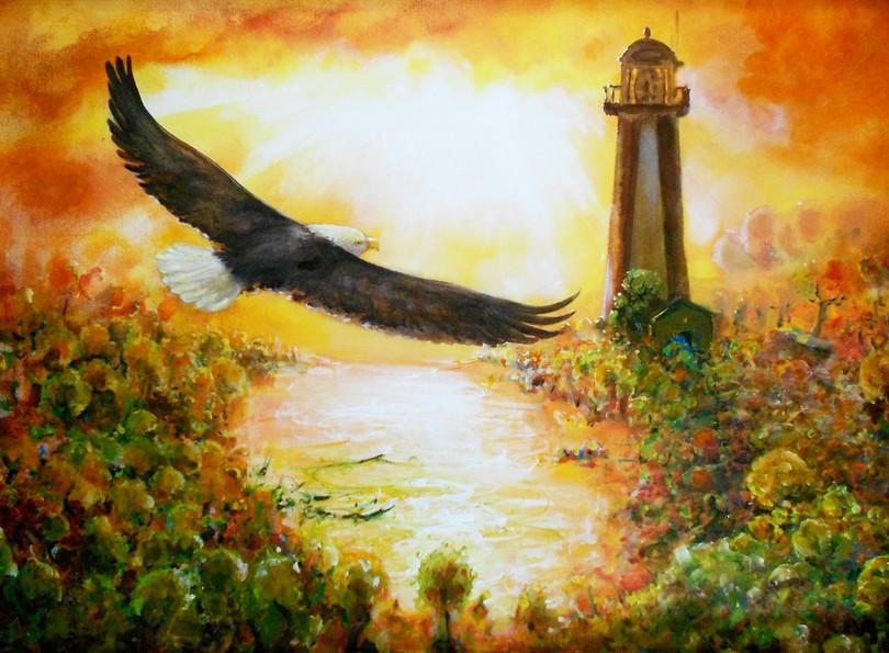 Eagle & Lighthouse