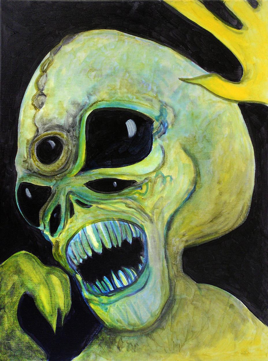 5 Eyed Alien