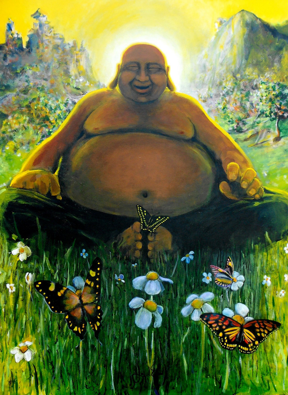 Buddha & Butterflies
