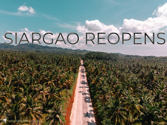 BREAKING: Siargao Reopens: What you need to know.