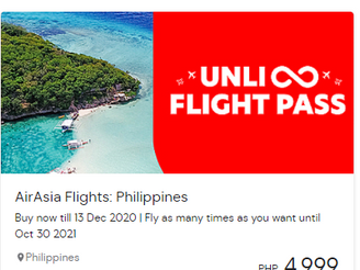 Air Asia introduces Unli Pass for domestic Philippine flights