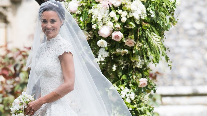 This is the secret to Pippa Middleton's amazing wedding dress
