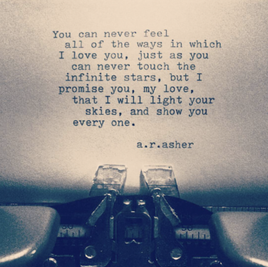 10 Times Poet A.R. Asher Perfectly Described How Love Should Feel
