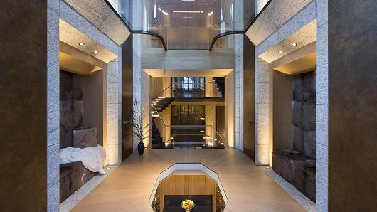 This $185 million mansion has hidden rooms and an underground lake—take a look inside