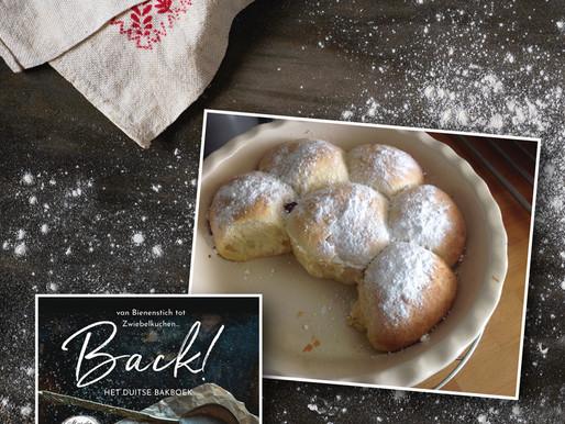 Buchteln, recept uit BACK! Het Duitse bakboek