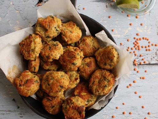 Linsen-Zucchini-Bällchen | Linzen-courgetteballetjes