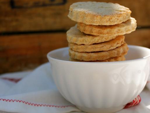 Koken met een oudje: zandkoekjes