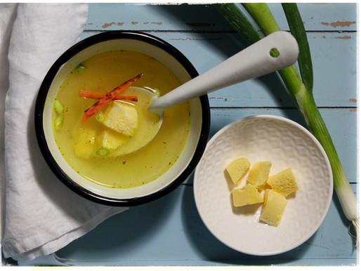 Aagje kookt... groentebouillon met Eierstich
