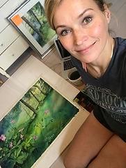 Katariina Kuukasjärvi taiteilija