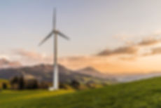 A picture of a wind turbine to represent the carbon offsetting & carbon reduction services that Greenest Energy South West offer to business across the west of England.