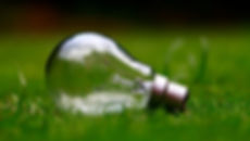 Picture of a light bulb to show the business energy comparison tool that Greenest Energy SW use to help businesses.