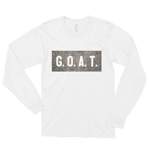 """GOAT"" Long sleeve t-shirt"